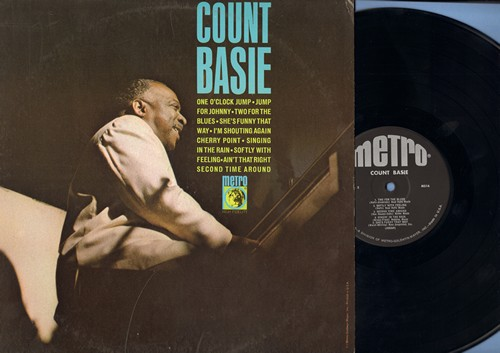 Basie, Count - Count Basie: One O'Clock Jump, Jump For Johnny, Softly With Feeling, Singin' In The Rain, Second Time Around, Cherry Point (Vinyl MONO LP record) - NM9/EX8 - LP Records