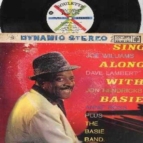 Basie, Count & His Orchestra, Joe Williams, Dave Lambert, Jon Hendricks, Annie Ross - Sing Along With Basie: Jumpin' At The Woodside, Tickle Toe, Every Tub, Shorty George, Lil' Darlin', Swingin' The Blues (Vinyl STEREO LP record, multi-color label) - EX8/