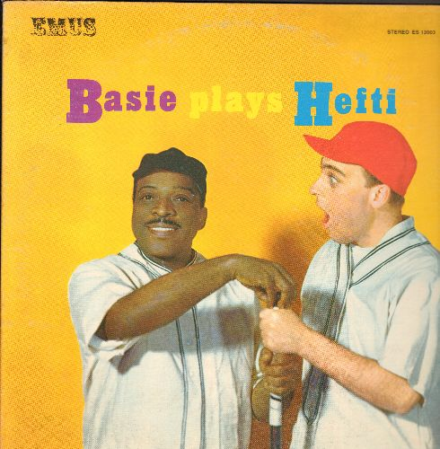 Basie, Count & His Orchestra - Basie Plays Hefti: Has Anyone Here Seen Basie, Cute, Scoot, Bag-A' Bones, Count Down (Vinyl STEREO LP record, re-issue of vintage Jazz recordings) - NM9/NM9 - LP Records