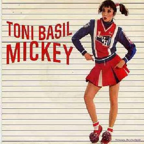 Basil, Toni - Mickey (PARTY FAVORITE!)/Thief On The Loose (with juke box label) - NM9/VG7 - 45 rpm Records