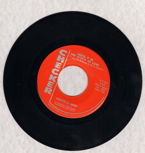 Bass, Fontella - Leave It In The Hands Of Love/Recovery (red label early pressing) - M10/ - 45 rpm Records