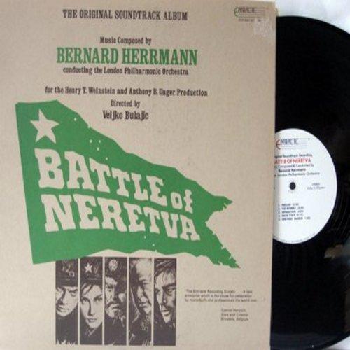 Herrmann, Bernard - Battle Of Neretva - Original Soundtrack Album, music composed by Bernard Herrmann (vinyl STEREO LP record) - NM9/NM9 - LP Records