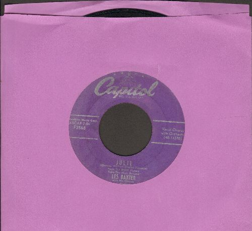 Baxter, Les & Chorus & Orchestra - Julie/Tropicana - VG7/ - 45 rpm Records