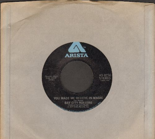 Bay City Rollers - You Made Me Believe In Magic/Dance Dance Dance (with Arista company sleeve) - EX8/ - 45 rpm Records