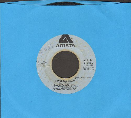 Bay City Rollers - Saturday Night (PARTY FAVORITE!)/Marlina  - VG7/ - 45 rpm Records