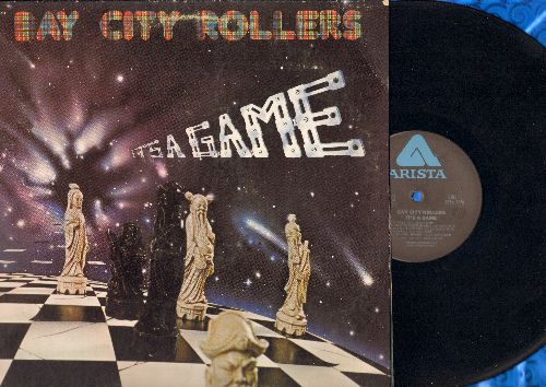 Bay City Rollers - It's A Game: You Made Me Believe In Magic, The Way I Feel Tonight, Love Fever, Inside A Broken Dream (vinyl LP record, gate-fold cover) - VG7/VG7 - LP Records