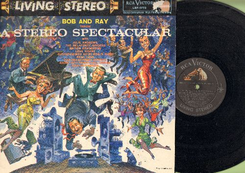 Bob & Ray - Bo And Ray Throw A Stereo Spectacular - It's Solid Stereo! (vinyl STEREO LP record) - EX8/EX8 - LP Records