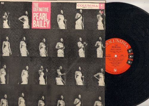 Bailey, Pearl - The Definitive Pear Bailey: Tired, Ma He's Making Eyes At Me, Baby It's Cold Outsdide, Frankie And Johnny, St. Louis Blues (vinyl MONO LP record) - NM9/EX8 - LP Records