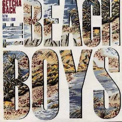Beach Boys - Getcha Back/Male Ego (with picture sleeve) - NM9/EX8 - 45 rpm Records