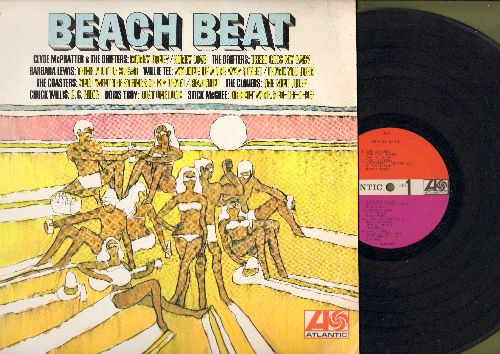 Clovers, Coasters, Barbara Lewis, Doris Troy, others - Beach Beat: One Mint Julep, Think A Little Sugar, There Goes My Baby, Just One Look (Vinyl MONO LP record) - VG7/VG7 - LP Records