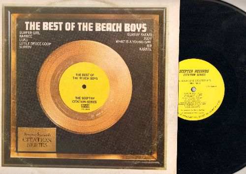 Beach Boys - The Best Of: Surfer Girl, Surfin', Surfin' Safari, What Is A Young Girl, Karate (Vinyl STEREO LP record, 1972 issue) - NM9/VG7 - LP Records