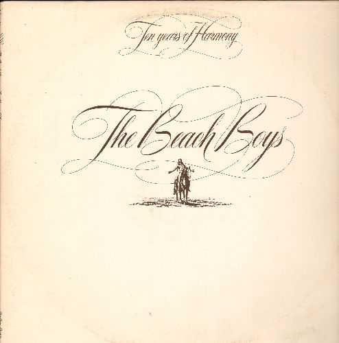 Beach Boys - Ten Years Of Harmony: Sea Cruise, Come Go With Me, Surf's Up, School Day, Disney Girls (2 vinyl STEREO LP records, DJ advance pressing, gate-fold cover) - NM9/EX8 - LP Records
