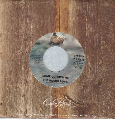 Beach Boys - Come Go With Me/Don't Go Near The Water - M10/ - 45 rpm Records