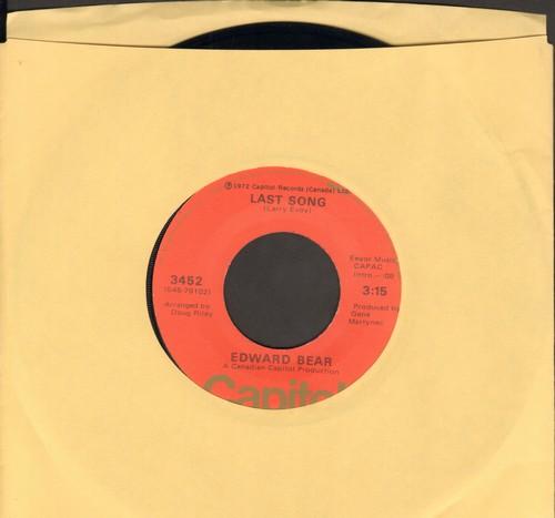 Bear, Edward - Last Song/Best Friend  - VG7/ - 45 rpm Records
