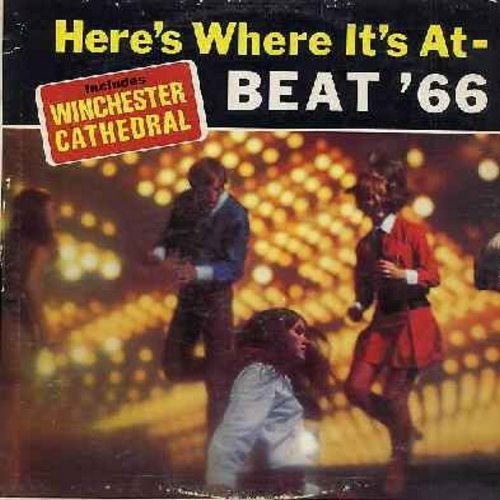 Haircuts & The Impossibles - Here's Where It's At - Beat '66: Winchester Cathedral, Monday Monday, Where Did Our Love Go, I Want To Hold Your Hand, Liverpool Stomp, Henry The Eighth (Vinyl MONO LP record) - NM9/VG7 - LP Records