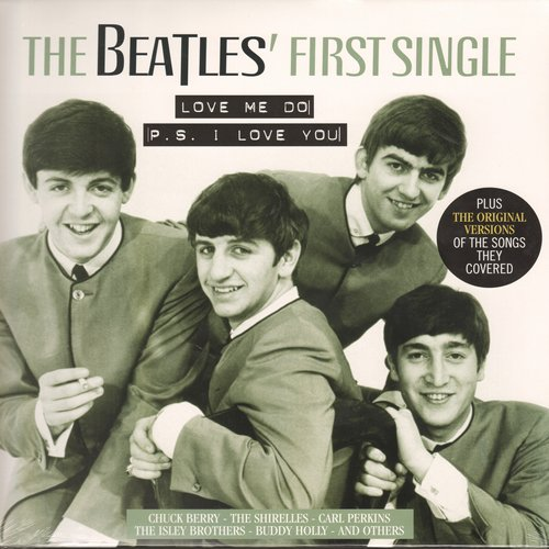 Beatles - The Beatles' First Single - Love Me Do/P.S. I Love You PLUS the Original Version of the Songs They Covered (vinyl LP record, DIGITAL E.U. Pressing, SEALED, never opened!) - SEALED/SEALED - LP Records