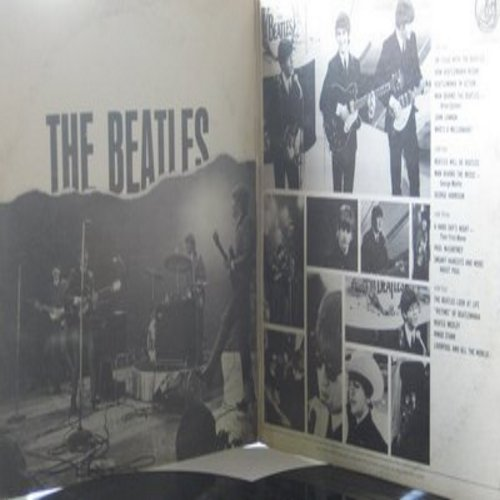 Beatles - The Beatles' Story - A Narrative and Musical Biography of Beatlemania on 2 vinyl STEREO LP records, gate-fold cover. - EX8/VG6 - LP Records