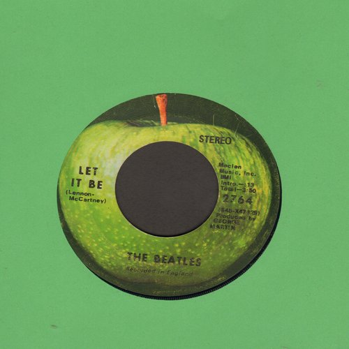 Beatles - Let It Be/You Know My Name Look Up My Number  - VG7/ - 45 rpm Records