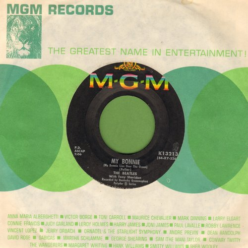 Beatles - My Bonnie/The Saints (with MGM company sleeve) - EX8/ - 45 rpm Records