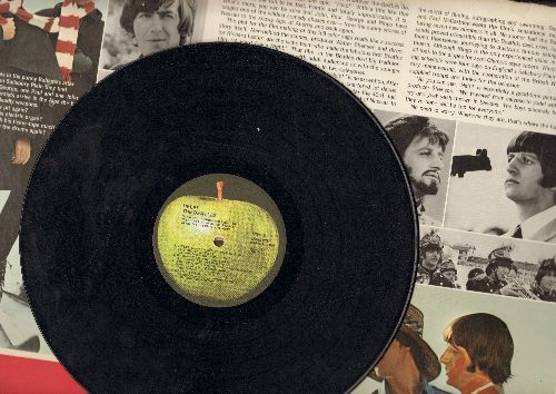 Beatles - Help! - Original Motion Picture Sound Track (vinyl STEREO LP record, Apple label, gate-fold cover) - VG7/VG7 - LP Records