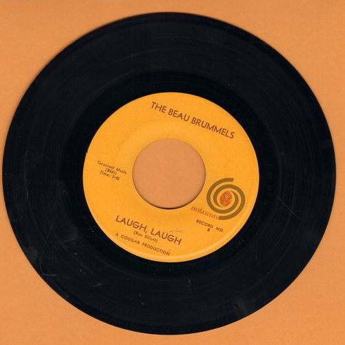 Beau Brummels - Laugh, Laugh/Still In Love With You Baby (minor wol) - VG7/ - 45 rpm Records