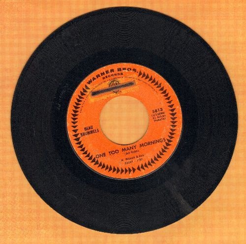 Beau Brummels - One Too Many Mornings/She Reigns (sol) - VG7/ - 45 rpm Records