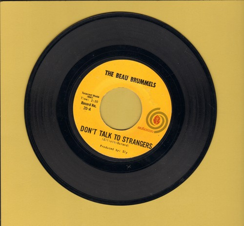 Beau Brummels - Don't Talk To Strangers/In Good Time - EX8/ - 45 rpm Records