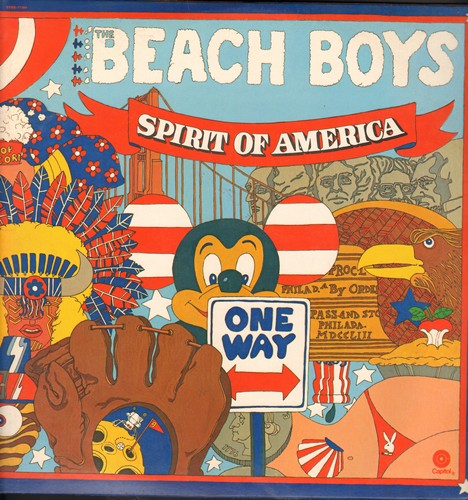 Beach Boys - Spirit Of America: Little Honda, 409, Why Do Fools Fall In Love, Barbara Ann, Do You Wanna Dance? (2 vinyl LP record set, gate-fold cover, NICE condition!) - M10/NM9 - LP Records