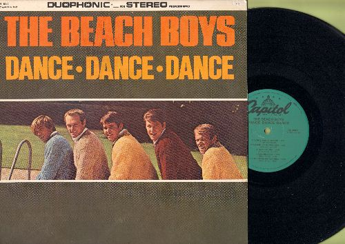 Beach Boys - Dance, Dance, Dance: Do You Wanna Dance, Help Me Rhonda, When I Grow Up (To Be A Man), I'm So Young (Vinyl LP record, 1980s Duophonic Stereo re-issue) - NM9/NM9 - LP Records