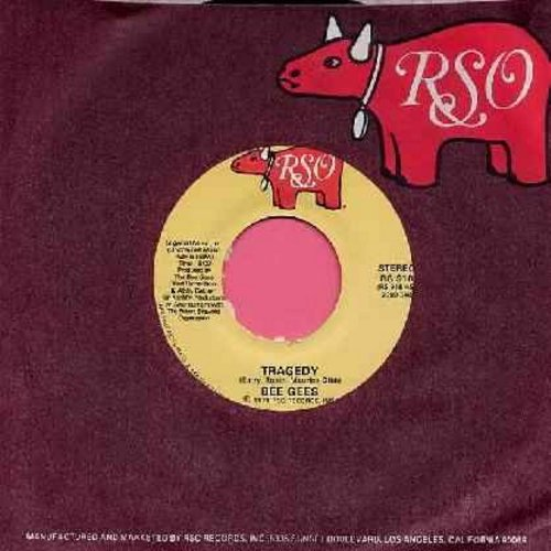 Bee Gees - Tragedy/Until (with RSO company sleeve) - NM9/ - 45 rpm Records