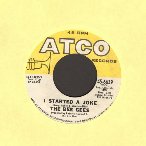 Bee Gees - I Started A Joke/Kilburn Towers  - VG7/ - 45 rpm Records