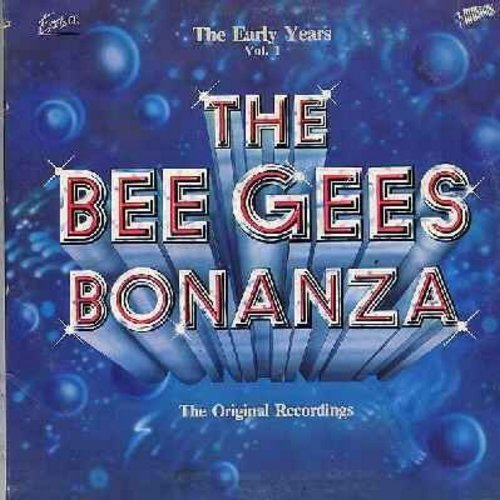 Bee Gees - Bee Gee Bonanza - The Early Years Vol. 1: Jingle Jangle, Wine And Women, Turn Around - Look At Me, Cherry Red, How Love Was True (2 vinyl STEREO LP record set, gate-fold cover, counts as 2 LPs) - NM9/EX8 - LP Records