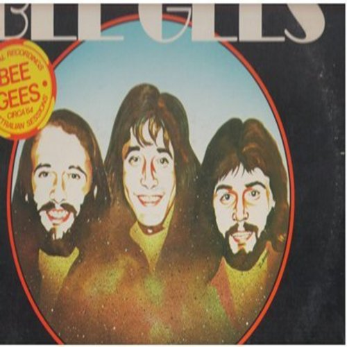 Bee Gees - Take Hold Of That Star - Re-issue of Vintage 1964 recordings: Three Kisses Of Love, Everyday I Have To Cry, Follow The Wind (vinyl STEREO LP record, DJ advance pressing) - NM9/VG7 - LP Records