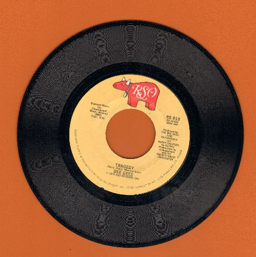 Bee Gees - Tragedy/Until  - NM9/ - 45 rpm Records