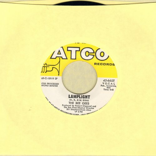 Bee Gees - First Of May/Lamplight - NM9/ - 45 rpm Records