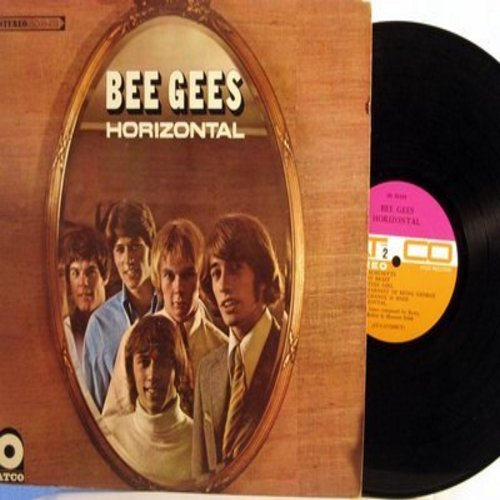 Bee Gees - Horizontal: Massachusetts, World, Lemons Never Forget, The Earnest Of Being George (vinyl STEREO LP record) - EX8/EX8 - LP Records