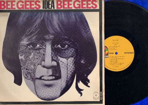 Bee Gees - Idea: I Started A Joke, I've Gotta Get A Message To You, Let There Be Love, In The Summer Of His Years (Vinyl STEREO LP record) - VG6/EX8 - LP Records