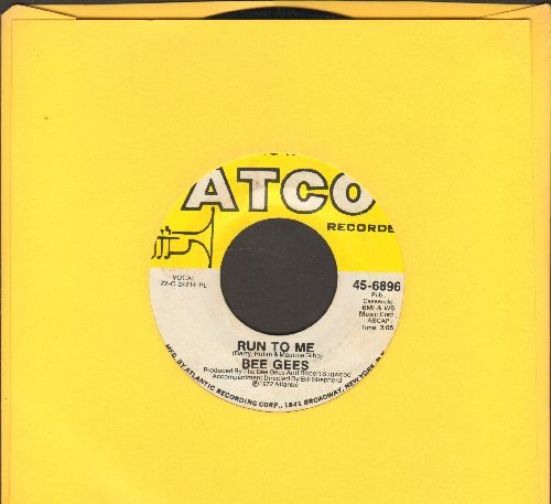 Bee Gees - Run To Me/Road To Alaska  - VG7/ - 45 rpm Records