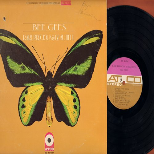 Bee Gees - Rare, Precious & Beautiful: Spicks And Specks, Jingle Jangle, How Many Birds, Where Are You (Vinyl STEREO LP record) - NM9/VG7 - LP Records