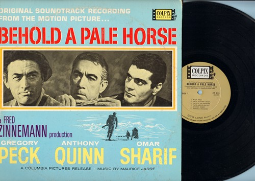 Behold A Pale Horse - Behold A Pale Horse - Original Motion Picture Soundtrack, music by Maurice Jaree (Vinyl MONO LP record) - M10/EX8 - LP Records