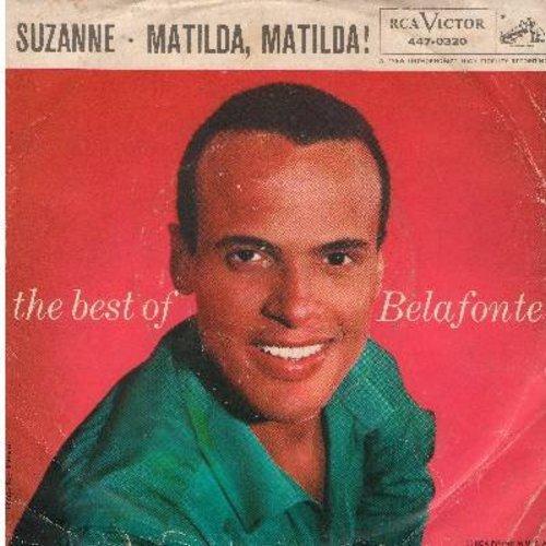 Belafonte, Harry - Matilda, Matilda/Suzanna - EX8/VG7 - 45 rpm Records
