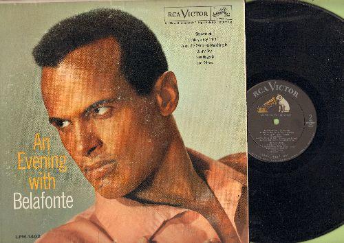 Belafonte, Harry - An Evening With Belafonte: Shenandoah, Mary's Boy Child, Danny Boy, Hava Nageela, Merci Mon Dieu (Vinyl MONO LP record) - NM9/EX8 - LP Records