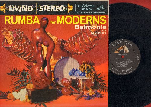 Belmonte & His Orchestra - Rumba For Moderns: Linda Mujer, Peanut Vendor, Mama Inez, Rumba Rumbero (RARE 1958 STEREO pressing) (Vinyl STEREO LP record) - NM9/EX8 - LP Records