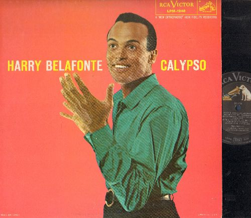 Belafonte, Harry - Calypso: Day O, Jamaica Farewell, Sta O, Man Smart (Woman Smarter), Will His Love Be Like His Rum? (vinyl MONO LP record, NICE condition!) - EX8/EX8 - 45 rpm Records