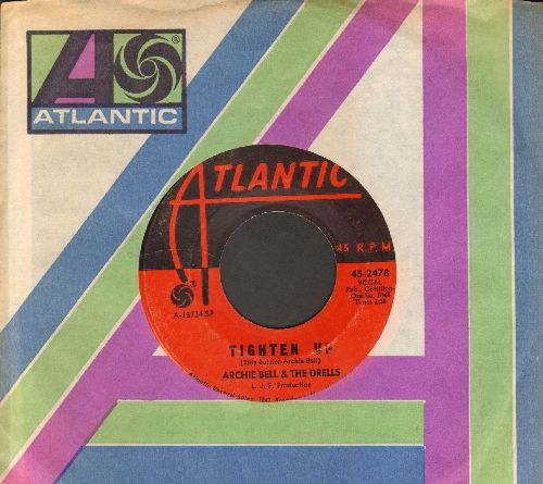 Bell, Archie & The Drells - Tighten Up (Parts 1 + 2) (with Atlantic company sleeve) - EX8/ - 45 rpm Records