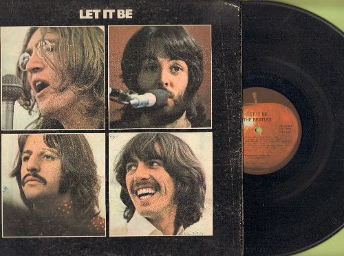 Beatles - Let It Be: Get Back, Maggie Mae, Across The Universe, The Long And Winding Road (Vinyl STEREO LP record, gate-fold cover) - VG6/VG7 - LP Records