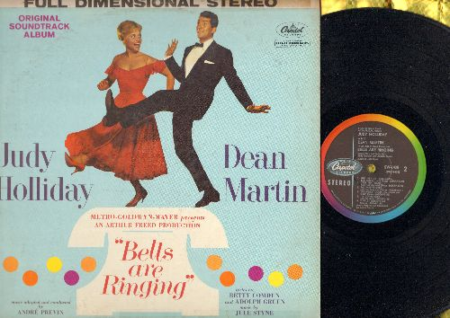 Holliday, Judy, Dean Martin - Bells Are Ringing - Original Motion Picture Sound Track (Vinyl STEREO LP record) - EX8/VG7 - LP Records