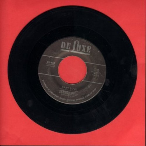 Bell, Reuben - Baby Love (NICE 70's Soft Rock version of the Supremes Hit!)/I Hear You Knocking (It's Too Late) - NM9/ - 45 rpm Records