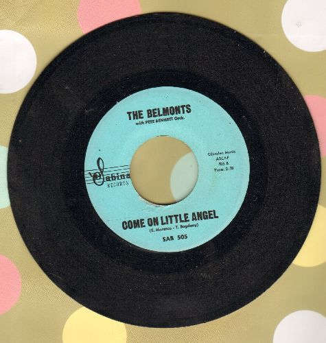 Belmonts - Come On Little Angel/How About Me  - NM9/ - 45 rpm Records