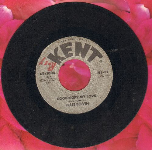 Belvin, Jesse - Goodnight My Love/Senorita - VG7/ - 45 rpm Records